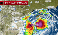 Vietnam strives to minimize damage from Talas storm