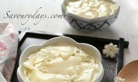 Sweet Tofu Pudding