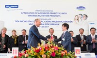 Vinamilk forms strategic cooperation with world's leading probiotics supplier