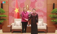 NA Chairwoman receives New Country Director of UNDP