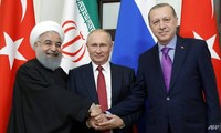 Turkey, Russia, Iran to hold Syria summit in Istanbul