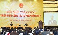 Vietnam insiste en lucha contra el tribalismo en confección de documentos judiciales