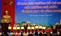 Honran 16 obras ganadoras de premios Ho Chi Minh y del Estado para sector científico-tecnológico