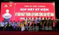 Siguen actividades por los 87 años del Partido Comunista en Vietnam