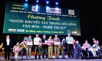 Esfuerzos comunes para integrar a los discapacitados a la sociedad vietnamita