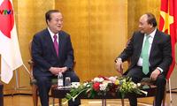 Primer ministro de Vietnam cumple agenda de trabajo en Japón