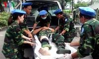 Hospital de campaña de segunda categoría de Vietnam dispuesto a asumir misión de la ONU