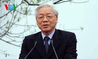 Máximo líder político de Vietnam prepara visita a Camboya