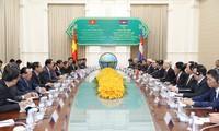Vietnam y Camboya abogan por impulsar la cooperación entre localidades