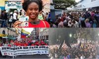 Presidente de Venezuela celebra la victoria electoral