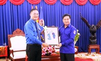 La juventud de Hanoi contribuye a promover aún más la amistad Vietnam-Laos