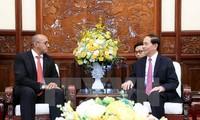 Embajador de Cuba realiza una visita de despedida al presidente de Vietnam