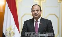 Presidente de Egipto inicia su visita a Vietnam