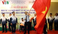 Deportistas discapacitados de Vietnam listos para competir en los XXIX Juegos del Sudeste Asiático