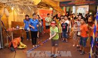 Localidades vietnamitas organizan fiestas del Medio Otoño para los niños