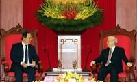 Vietnam y Laos fortalecen la cooperación en infraestructura y minería