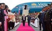 El primer ministro de Vietnam inicia su visita de trabajo en Filipinas
