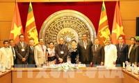Vietnam y Sri Lanka fomenta la cooperación parlamentaria