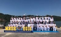 Marina vietnamita toma parte en ejercicios militares Komodo 2018 en Indonesia