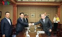 Vicepremier vietnamita reafirma la política nacional de cooperación con Estados Unidos