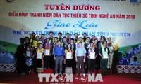 Honran a 25 jóvenes étnicos más destacados en movimientos emulativos para el desarrollo de Nghe An