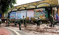 septentrional de Vietnam sigue con la superación de las consecuencias del huracán Son Tinh
