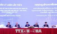 Vietnam y Laos consolidan la cooperación en materia de teoría política