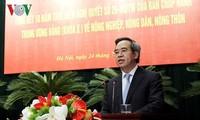 Vietnam evalúa los 10 años de la política a favor de los agricultores y la nueva ruralidad