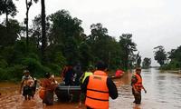 Decenas de muertos tras el derrumbamiento de una presa en Laos