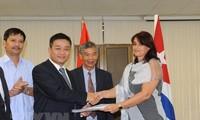 La cooperación empresarial Vietnam-Cuba muestra nueva etapa de solidaridad en Zona Mariel