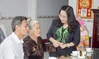 La provincia de Soc Trang, ejemplo de las actividades de gratitud a personas meritorias