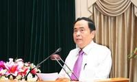 Frente de la Patria de Vietnam enaltece el seguimiento del ejemplo del presidente Ton Duc Thang
