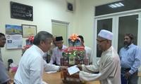 Dirigente vietnamita felicita a comunidad musulmana con motivo de Celebración del Sacrificio