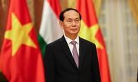 Ciudadanos etíopes dan bienvenida al presidente de Vietnam