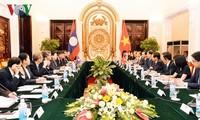 Vietnam y Laos consolidan las relaciones políticas