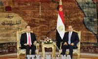 Jefe de Estado de Vietnam termina visita de trabajo a Egipto
