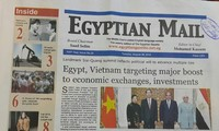 Medios de comunicación de Egipto ensalzan visita del presidente vietnamita