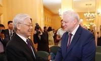 Vietnam fomenta la cooperación partidista con Rusia
