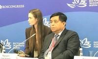 Vietnam promueve cooperación comercial y económica con Rusia y Asean