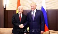 Ciudadanos rusos esperan nuevos frutos en las relaciones con Vietnam