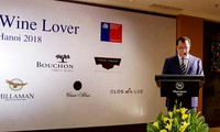 Chile promueve marca vitivinícola en una degustación en Hanói