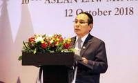 Comienza la X Conferencia de Ministros de Justicia de la Asean en Laos