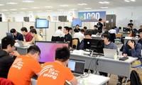 Vietnam y Japón compiten en la final del concurso de programación de inteligencia artificial