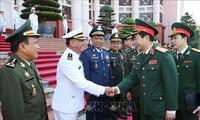 Vietnam y Camboya consolidan cooperación en defensa