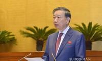 Parlamento de Vietnam aborda informes sobre lucha contra crimen y corrupción