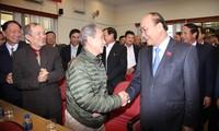 Premier vietnamita se reúne con electores de la ciudad de Hai Phong