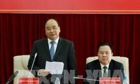 Primer ministro de Vietnam orienta el desarrollo de la provincia de Cao Bang