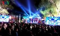 Ciudadanos vietnamitas celebran el Año Nuevo 2019