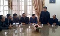 Repatrian a víctimas vietnamitas del atentado terrorista en Egipto