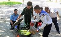 Tet de unidad nacional en el distrito de Truong Sa